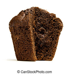 Double Chocolate Muffin - Double Chocolate fondant filled ...