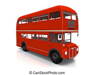 double-decker busz