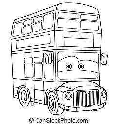 double-decker, londres, autobús