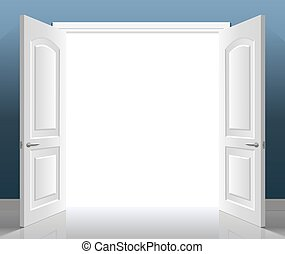 open double door drawing. Double Doors Open Door Drawing