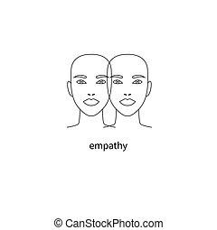 Double face icon