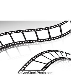 Double film cinema background set
