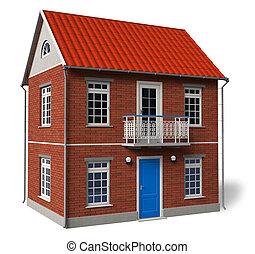 Double-floor cottage