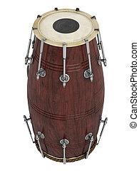 Double-headed hand-drum