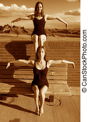 Double jointed Ballerinas - Double jointed ballerinas ...