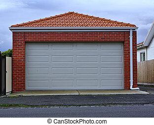 Double sized garage door