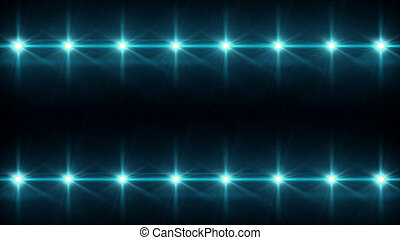 double Stars lens flares pattern blue