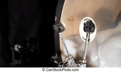 double, tambour, basse, pédale