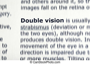 double vision concept