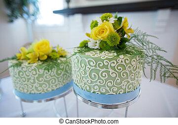 Double Wedding Cake - a special double wedding cake