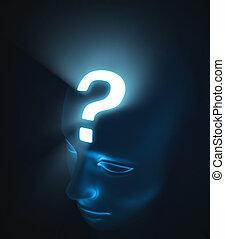 Doubt - Concept of question.