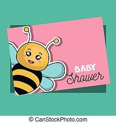 douche bébé, conception