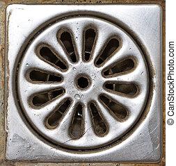 douche, draineren, oud