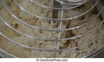 dough - kneading machine