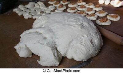 dough pieces