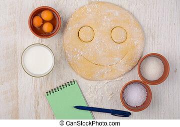 dough with a smile