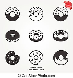 Doughnut icons