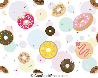 Doughnuts Background