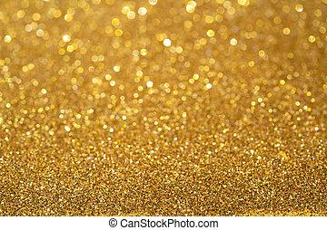 dourado, abstratos, brilhar, fundo