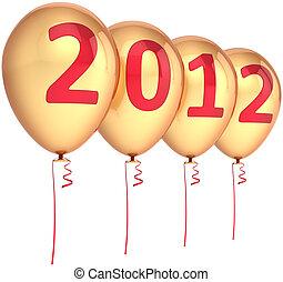 dourado, ano novo, partido, balões, 2012