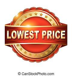 dourado, baixo, garantia, preço