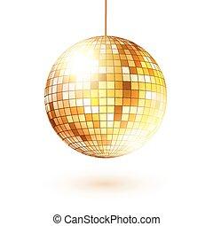 dourado, ball., discoteca