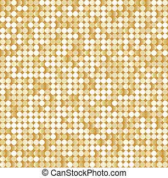 dourado, brilhante, paillettes, fundo, seamless