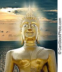 dourado, buddha