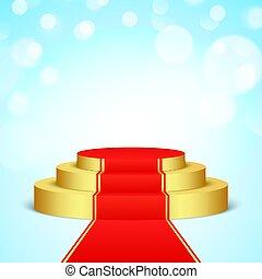 dourado, carpet., vermelho, fase