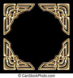 dourado, celta, cantos