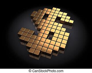 dourado, dólar