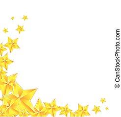 dourado, estrela