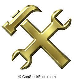 dourado, ferramentas