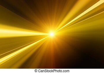 dourado, flash