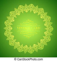 dourado, folha verde, renda, experiência.
