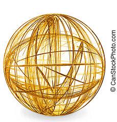 dourado, gaiola