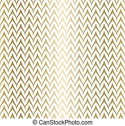 dourado, geometry., simples, zag, modernos, papel, trendy, texture., padrão, seamless, zig, fundo, branca, embrulhando, ziguezague, minimalistic, linha, geomã©´ricas, print., gráfico, illustration., vetorial, repetindo