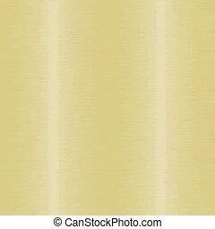 dourado, metal escovado, fundo