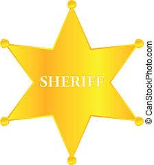 dourado, xerife, protagonize distintivo