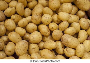 dourado, yukon, batatas