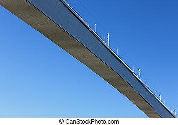 douro, béton, sur, rivière, pont