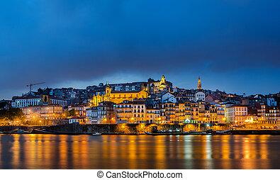 douro, porto, rivière, portugal
