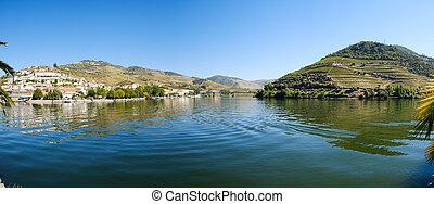 douro, río, pinhao