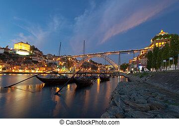 douro, río, porto, portugal