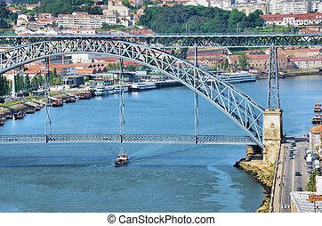 Douro river and the city of Porto