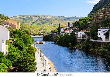 douro, vallée rivière, portugal