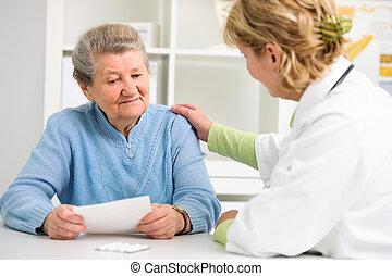 doutor paciente