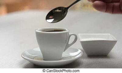 doux, café
