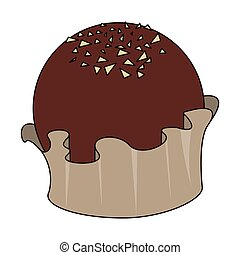 doux, délicieux, chocolat