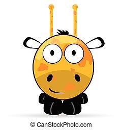 Illustrations de illustrtion 514 images clip art et - Girafe rigolote ...